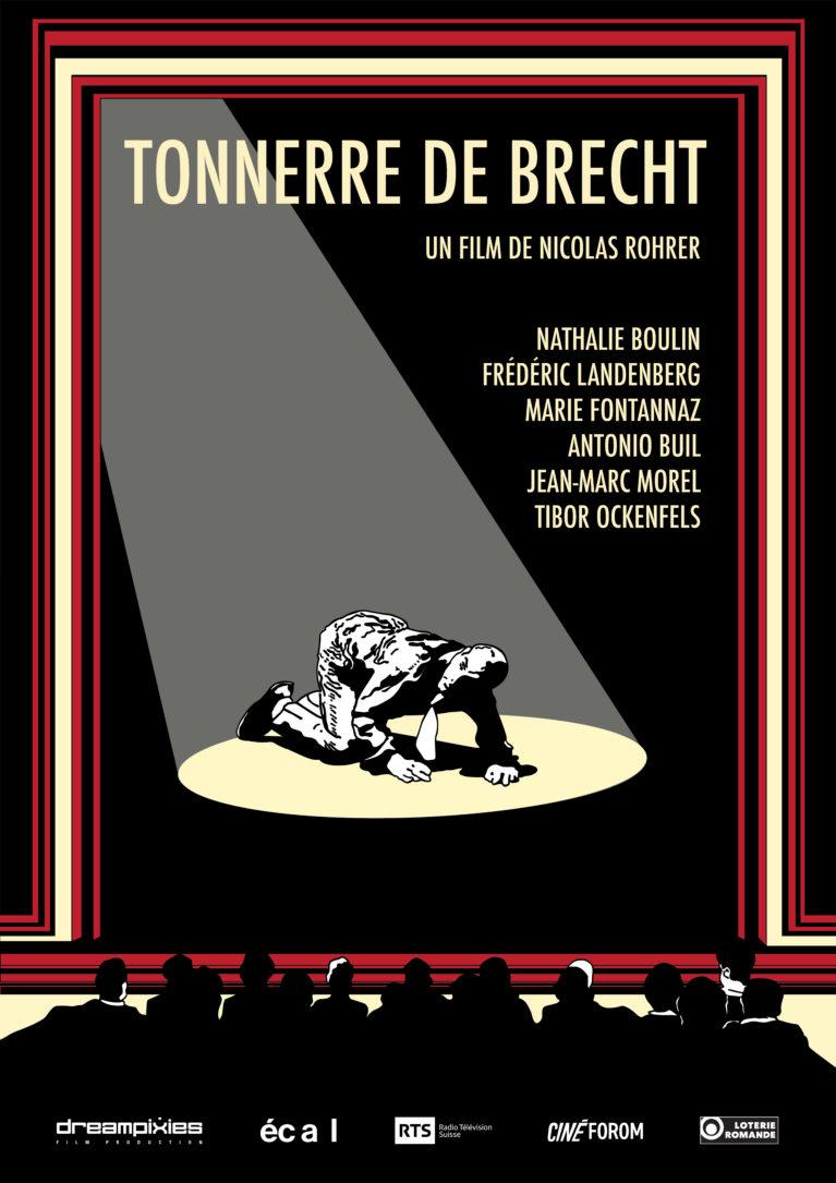 Official poster Tonnerre de Brecht