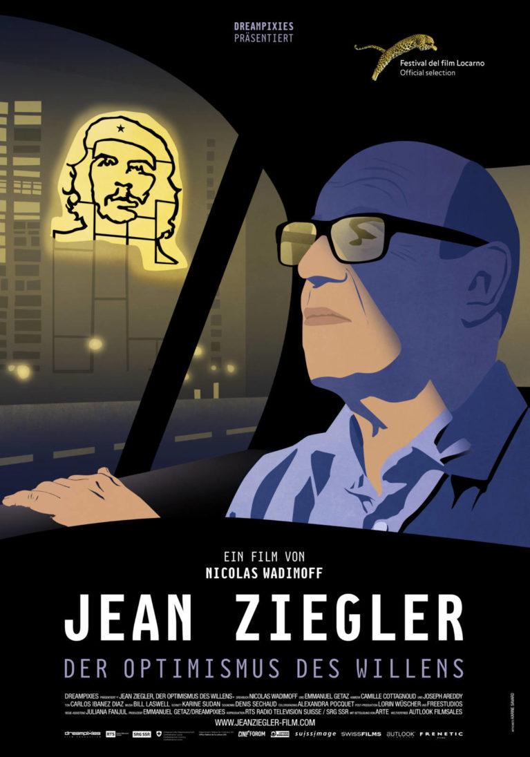 Official poster Jean Ziegler, l'optimisme de la volonté