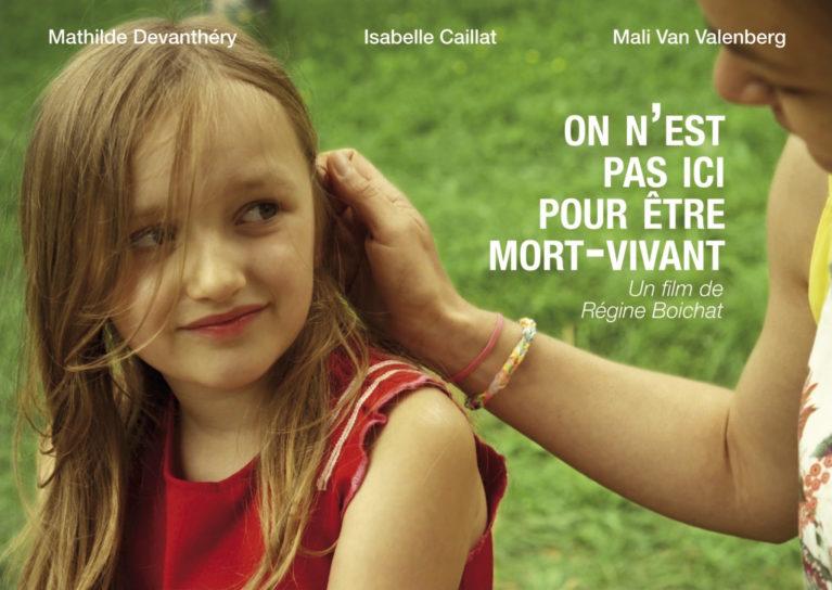 Official poster On n'est pas ici pour être mort-vivant