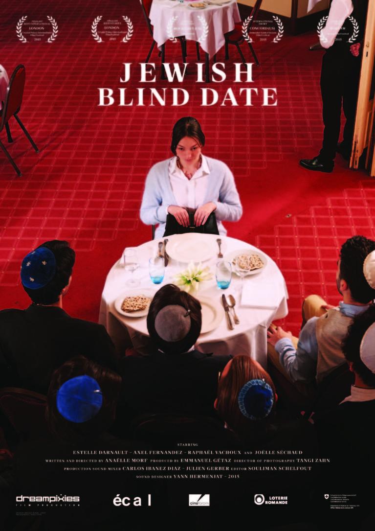 Official poster Blind date à la Juive